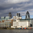 Thames panorama — Stockfoto