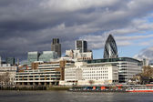 Thames panorama — Stock Photo