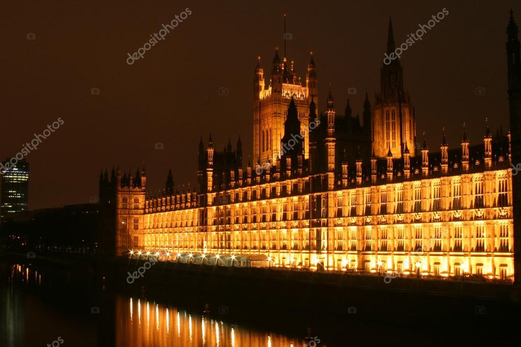 Night view in London  Stock Photo #12488850