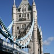 Part of the famous Tower Bridge in London  — Stock Photo