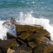 Water Crash on rocks — Stock Photo #13392217