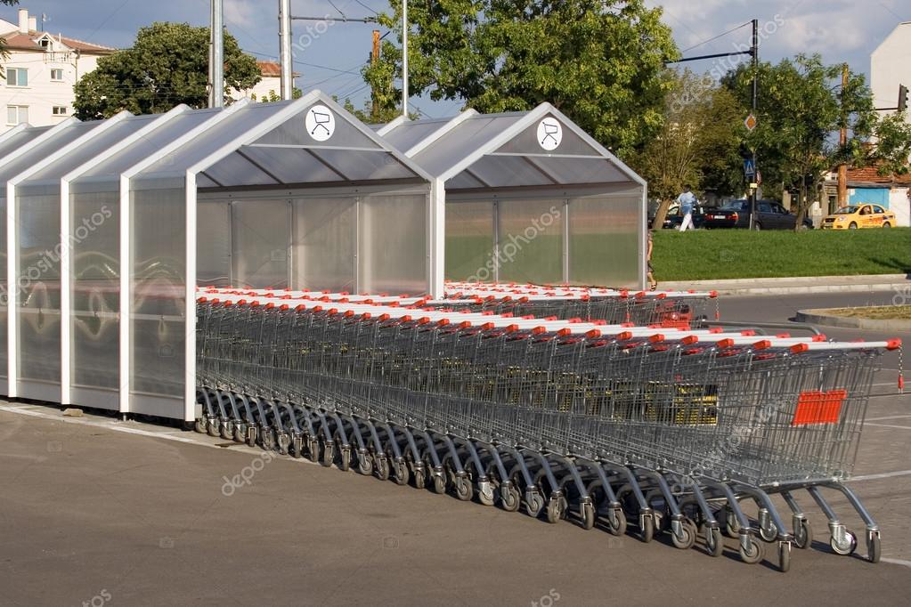 Shopping carts  — Stock Photo #13392150