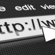 Internet Web Browser - Stockfoto