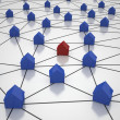 House Network — Stock Photo #12769626