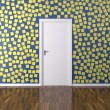 Background Wall with Post it — Stock Photo #12871368