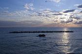 тихое море — Стоковое фото