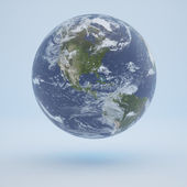 Isolated Earth — Stock Photo