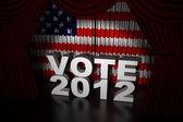 Election Day Usa 2012 — Stock Photo