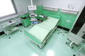 Empty Bed in a Hospital Room — Stock Photo