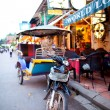 Tuk Tuk in Siem Reap, Cambodia — Stock Photo