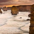 Backlit 12 Apostles golden sunset — Stock Photo #14434247