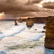Backlit 12 Apostles golden sunset — Stock Photo #14434251