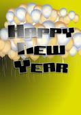 Happy new year 3 — Stock Vector