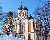 Alexander Nevsky Cathedral, Tallinn, Estonia — Stock Photo