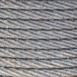 Stock Photo: Steel rope in grease