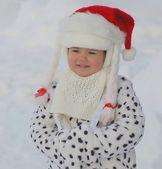 Portrait of beautiful baby — Stock Photo