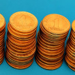 Column of coins — Stock Photo #13529181