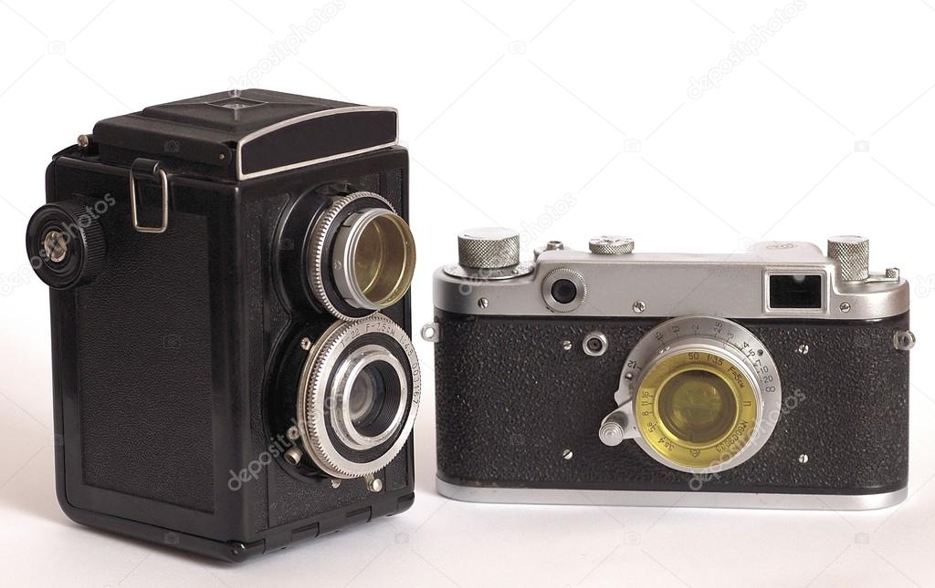 Retro film camera — Stock Photo #13529411