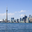 Stock Photo: Toronto Skyline and CN Tower