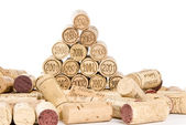 Corks and Vintages — Stock Photo