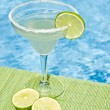 Royalty-Free Stock Photo: Margarita Cocktail by the Pool