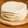 Pile of Pita Bread — Stock Photo #12245581