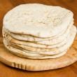 Pile of Pita Bread — Stock Photo