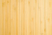 Bamboo Place Mat Closeup — Stock Photo