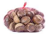 Bagful of Chestnuts — Stock Photo