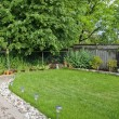 Stock Photo: Manicured Garden