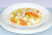 Homemade Chicken Soup — Stock Photo