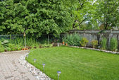 Manicured Garden — Stock Photo