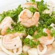 Seafood Medley - Stock Photo