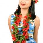 Hawaiian Girl — Stock Photo
