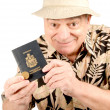 Stock Photo: Mature Man in Tourist Outfit