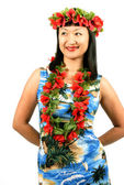 Hawaiian Girl — Stock Photo