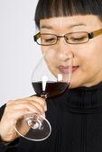 Wine Taster — Stock Photo