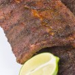 Caribbean Barbecued Ribs — Stock Photo