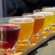 Stock Photo: Beer Sampler