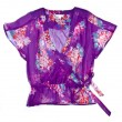 Stock Photo: Women Floral Chiffon Blouse