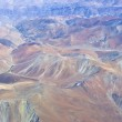 Aerial View of Mountains and Desert — Stock Photo #12674665