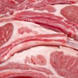 Closeup of Raw Lamb Chops — Stock Photo