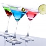 Colorful Martini Cocktails — Stock Photo #12675697