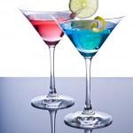 Colorful Martini Cocktails — Stock Photo #12675708