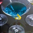 Colorful Martini Cocktails — Stock Photo