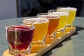 Beer Sampler — Stock Photo