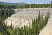 Fossil Fumaroles of Annie Creek at Crater Lake National Park — Stock Photo
