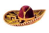 Velvet Mexican Sombrero — Stock Photo