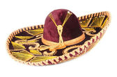 Velvet Mexican Sombrero — Stock Photo