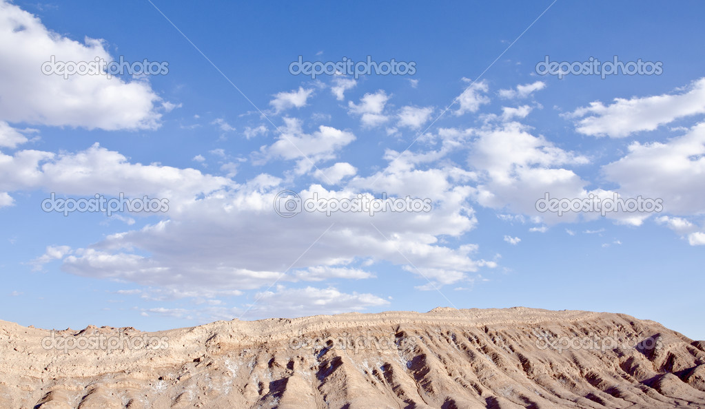 Valley of the Moon Atacama Desert Chile — Stock Photo #12676956